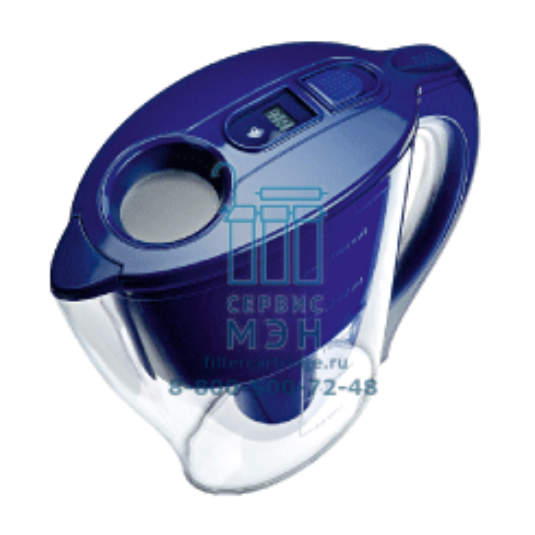 Кувшин Galant с электронным счетчиком синий H121